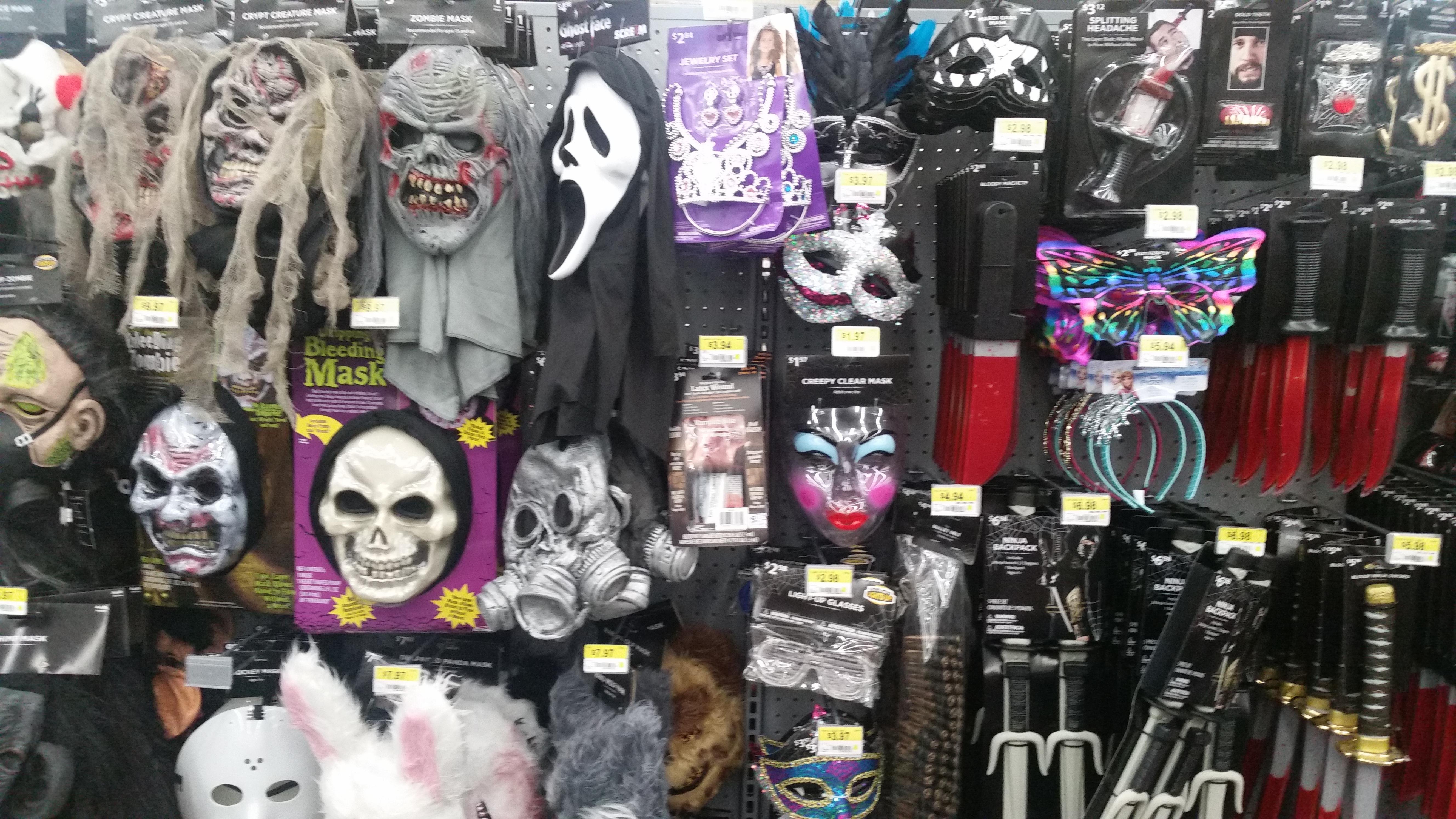 Halloween 2016 Store Sightings: Walmart - Mr. and Mrs. Halloween