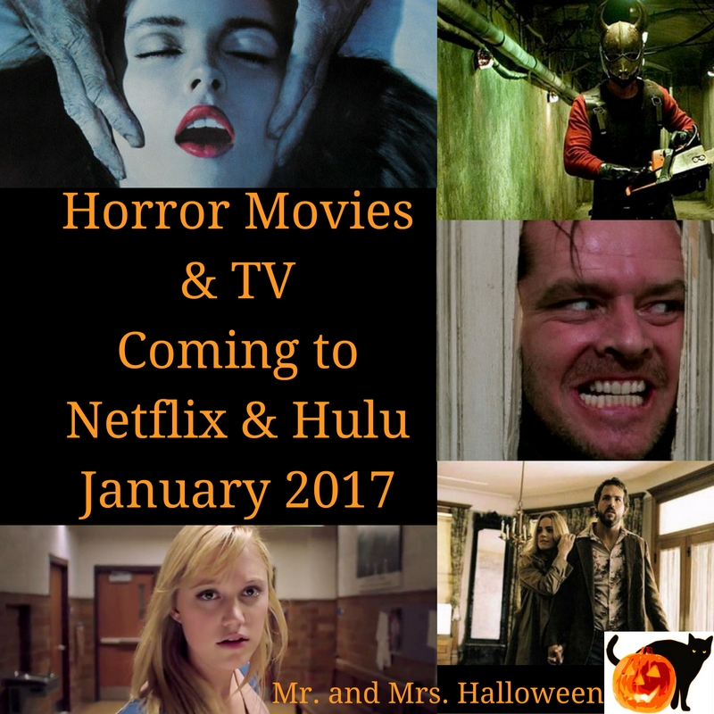 Horror Movies & TV Coming to Netflix & Hulu - January 2017 - Mr ...